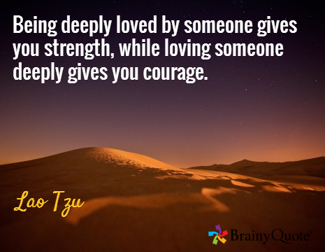 Love & Courage