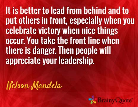 Lead Mandela