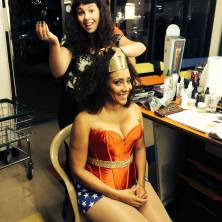 Make-Up for Wonder Woman