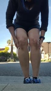 bruised-knees